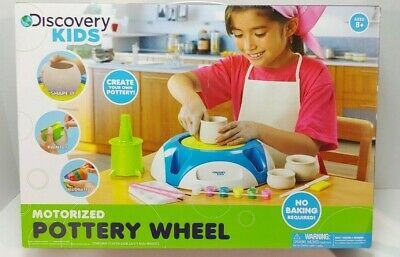 Discovery Kids® Motorized Pottery Wheel More Than 100 Pieces - New In Box!!
