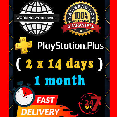PSN PLUS 14 Days PlayStation Plus PS + l [NO CODE] 🔥INSTANT FAST DELIVERY🔥