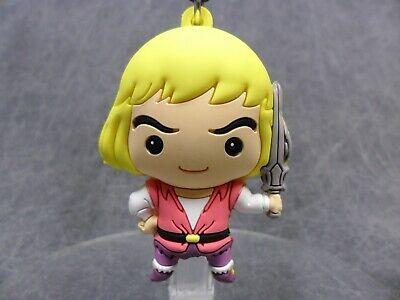 Masters of the Universe * Prince Adam Figural Clip * Blind Bag He-Man Key Chain