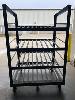 Industrial battery Gravity Rack Moveable Or Stationary Handling System