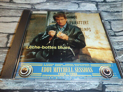 Eddy Mitchell  Sessions Leche-Bottes Blues / Cd 17 Titres  Rare