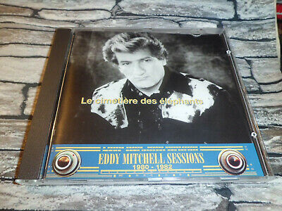 Eddy Mitchell  Sessions Le Cimetiere Des Elephants / Cd 20 Titres  Rare