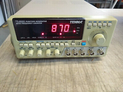 Tenma 72-6644 Function Generator with Frequency Counter