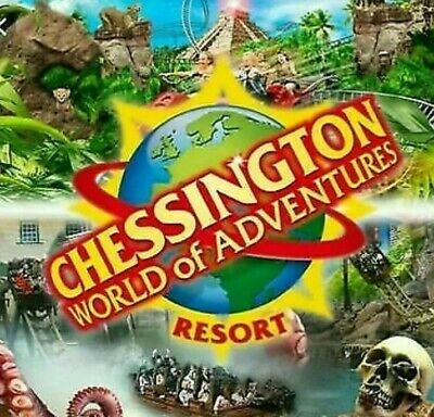 Chessington world of adventures  E- tickets Saturday 11th April .