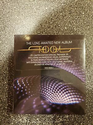 Tool - Fear Inoculum CD RCA Screen Deluxe Edition Video Pack