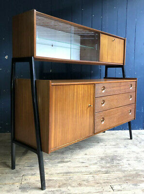 Rare Nathan Mid Century 60s Teak Sideboard Highboard Drawers DELIVERY*