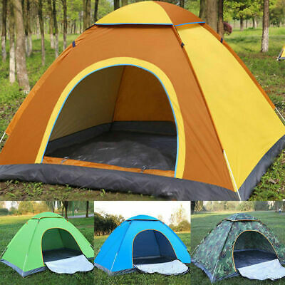 2#Person Waterproof Camping Tent Automatic Pop Up Quick Shelter Outdoor Hiking