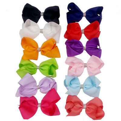 EE_ EG_ Kids Party Baby Girls Bowknot Bow Hair Clip Hairpin Hair Accessory Gift