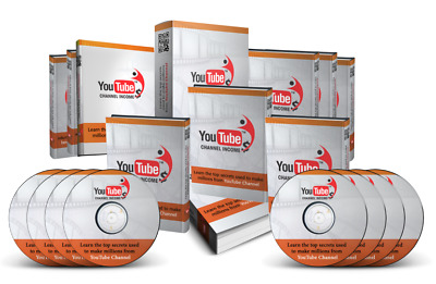 YouTube Channel Income - Master Resell Rights +10 Bonus Books W/ PLR MRR (PDF)