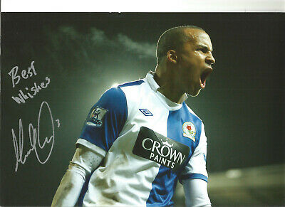Martin Olsson Blackburn Rovers Signed 12 x 8 authentic football photograph SS723