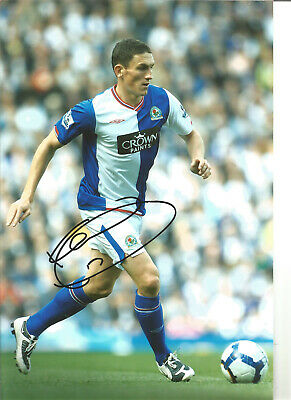 Keith Andrews Blackburn Rovers Signed 12x8 authentic football photograph SS723G