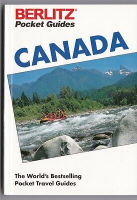 Berlitz Pocket Travel Guide of Canada Includes Maps 256 Pages