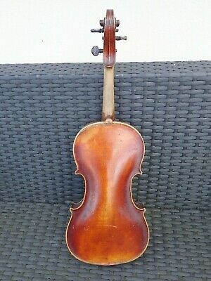Old Antique Mid 1800s Unlabelled Violin Violine Violon 小提琴, バイオリン