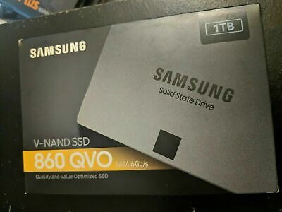 Samsung 860 QVO SATA III 2.5 inch 1TB SSD *NEW and UNOPENED*