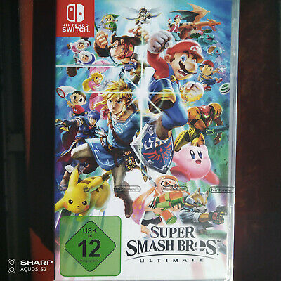 Super Smash Bros. Ultimate - [Nintendo Switch] New / Sealed - Same day dispatch!
