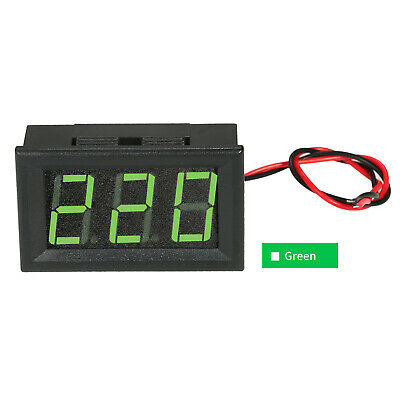 "DC 5V-120V 0.56"" LED Digital Voltmeter Voltage Tester Meter Panel Meter 2 B9L1"
