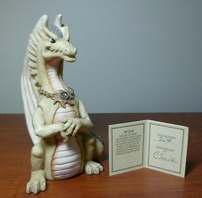 The World of Krystonia - N'Grall Figurine with S&N (#2078) Description Card