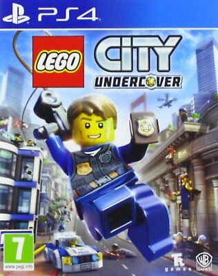 LEGO City Undercover PS4  NEW DISPATCHING TODAY ALL ORDERS PLACED BY 2 P.M.