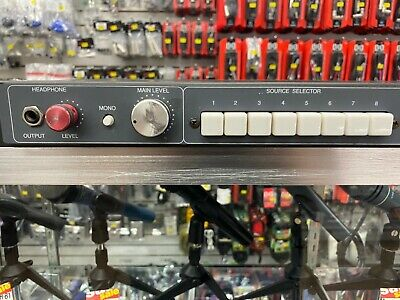 Coleman Audio MS8A - Eight input Stereo Input Monitor Switcher (Open Box)