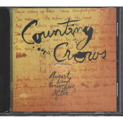 Counting Crows CD August And Everything After / Geffen GED24528 Sigillato