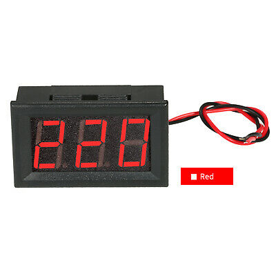 "DC5V-120V 0.56"" LED Digital Voltmeter Voltage Tester Meter Panel Meter 2 I1M9"