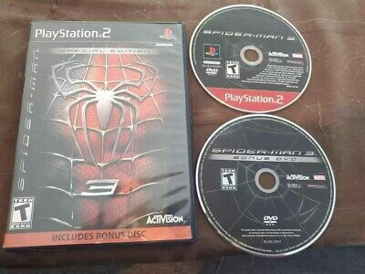 Spider-Man 3 Special Edition (Sony PlayStation 2, 2007) PS2