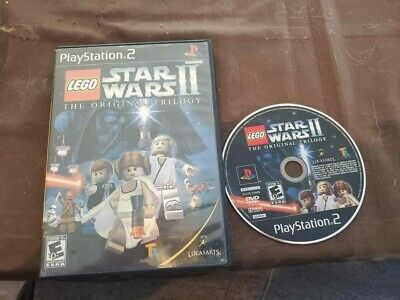 LEGO Star Wars II: The Original Trilogy (Sony PlayStation 2, 2006) A PS2