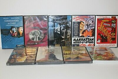 Wholesale Lot of 9 Different Brand New Sealed DVD Movies