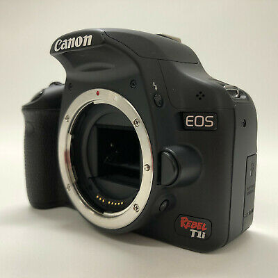 Canon EOS Rebel T1i / EOS 500D 15.1MP Digital SLR Camera w/ Battery, Charger