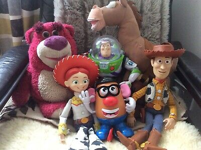 Toy Story Bundle - Woody,Jessie,Buzz,Bullseye, Mr Potato Head,Lotso