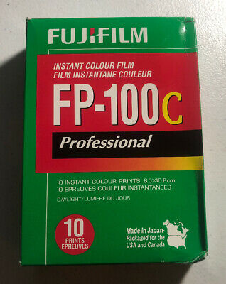 FujiFilm FP-100C Professional Instant Colour Film Exp. 2017-11 - Free Shipping