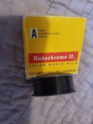 Vintage NEW  Kodachrome II Color Movie Film Not Used Exp May 1972