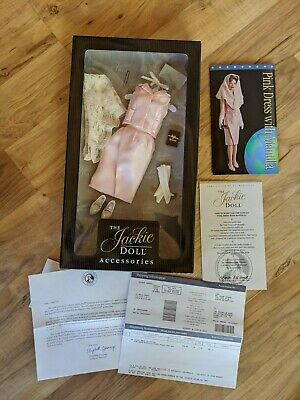 Franklin Mint The Jackie Doll Pink Dress With Mantilla