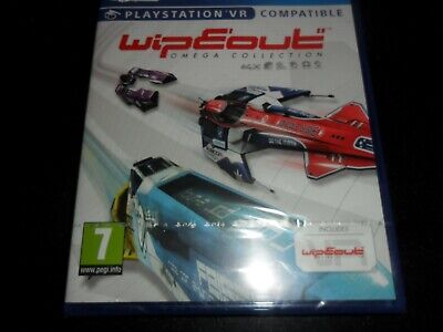 Wipeout Omega Collection  Ps4  Game  New Sealed