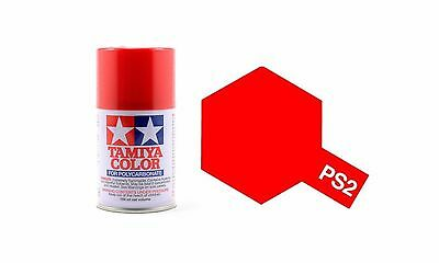 TAMIYA COLORE SPRAY PER POLICARBONATO RED ROSSO 100ml    ART PS2