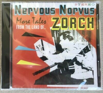 Nervous Norvus More Tales From The Land Of ZORCH CD New Sealed KBD TinyTim Retro