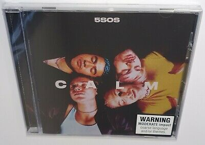 5 Seconds Of Summer C A L M (2020) Brand New Sealed Cd Calm 5Sos