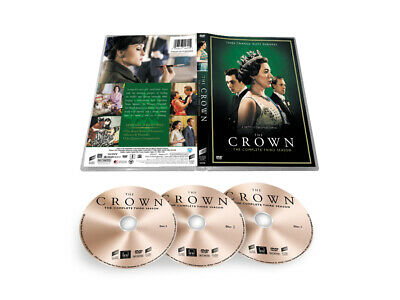 NEW The Crown 3 DVD Complete Third Sea son 3-Disc Set US
