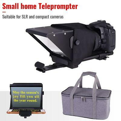 New Beam Splitter Teleprompter w/ Bag for iPhone PC Tablet Android Smartphone