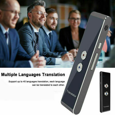 Smart Voice Translator Portable Two-Way Real Time Multi-Language Translation*T8