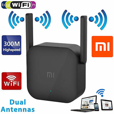 Xiaomi Pro*2.4G WIFI Repeater Signal Amplifier Wireless Router Extender 300Mbps