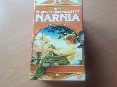 The Complete Chronicles of Narnia by C. S. Lewis, Paperback (1997), Boxed Set
