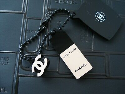Chanel  Beaute  vip gift charm makeup  foundation image on chain  rare