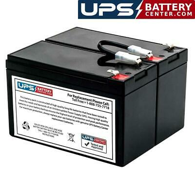 12V 9Ah F2 Compatible Replacement Battery Set for PP800 by UPS Battery Center