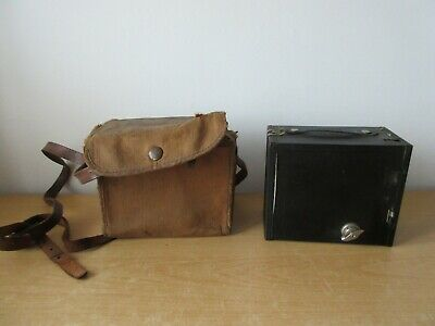 Brownie 2A Box Camera with Canvas Case
