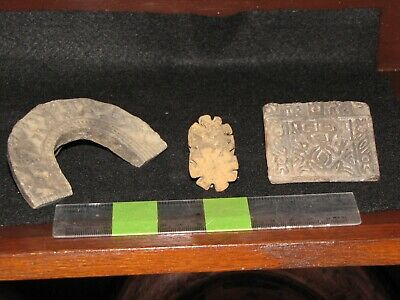 Pre Columbian, Pottery, Meso American, Mayan, West Mexican, Three Authentic R/SS