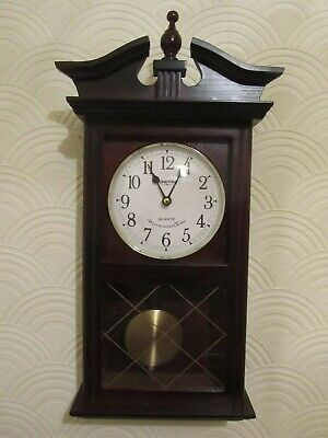 CONSTANT wall clock with pendulum, westminster chime Quartz