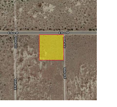 2.5 acres in Palmdale Lancaster with Mountain Views
