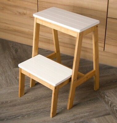 New Loft Range Folding Step Stool Turns in To Stool Home Funiture Folding Step