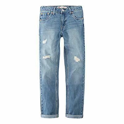 Levi's Boys' Little 502 Regular Fit Taper Jeans, Free Throw,, Free Throw, Size 7